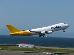 中須 無敵級*トプナン王さんが、中部国際空港で撮影したポーラーエアカーゴ 747-46NF/SCDの航空フォト(飛行機 写真・画像)