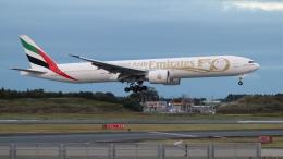 raichanさんが、成田国際空港で撮影したエミレーツ航空 777-31H/ERの航空フォト(飛行機 写真・画像)