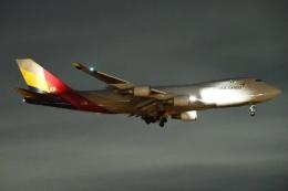 木人さんが、成田国際空港で撮影したアシアナ航空 747-446F/SCDの航空フォト(飛行機 写真・画像)