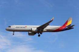 Love NRTさんが、成田国際空港で撮影したアシアナ航空 A321-251NXの航空フォト(飛行機 写真・画像)