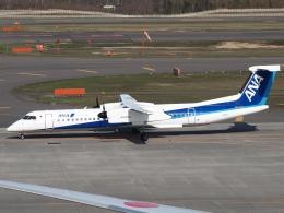 FT51ANさんが、新千歳空港で撮影したANAウイングス DHC-8-402Q Dash 8の航空フォト(飛行機 写真・画像)