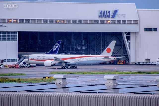 Yu-ki.iskwさんが、羽田空港で撮影した航空自衛隊 777-3SB/ERの航空フォト(飛行機 写真・画像)