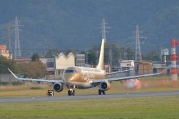 もえちゃんさんが、山形空港で撮影したフジドリームエアラインズ ERJ-170-200 (ERJ-175STD)の航空フォト(飛行機 写真・画像)