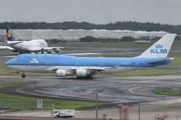 Timothyさんが、成田国際空港で撮影したKLMオランダ航空 747-406の航空フォト(飛行機 写真・画像)