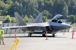 TA27さんが、ボーイングフィールドで撮影したアメリカ空軍 F-22 Raptorの航空フォト(飛行機 写真・画像)