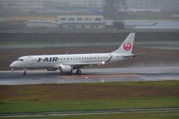 Souma2005さんが、仙台空港で撮影したジェイエア ERJ-190-100(ERJ-190STD)の航空フォト(飛行機 写真・画像)