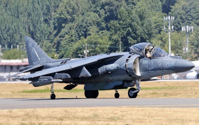 TA27さんが、ボーイングフィールドで撮影したアメリカ海兵隊 AV-8B(R) Harrier II+の航空フォト(飛行機 写真・画像)