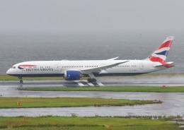 じーく。さんが、羽田空港で撮影したブリティッシュ・エアウェイズ 787-9の航空フォト(飛行機 写真・画像)