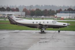 thomasYVRさんが、バンクーバー国際空港で撮影したBANK OF UTAH TRUSTEE PC-12の航空フォト(飛行機 写真・画像)