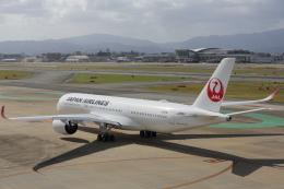 安芸あすかさんが、福岡空港で撮影した日本航空 A350-941の航空フォト(飛行機 写真・画像)