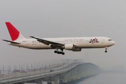 senyoさんが、関西国際空港で撮影した日本航空 767-346/ERの航空フォト(飛行機 写真・画像)