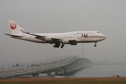 senyoさんが、関西国際空港で撮影した日本航空 747-446の航空フォト(飛行機 写真・画像)