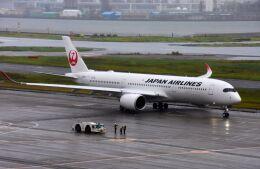 まいけるさんが、羽田空港で撮影した日本航空 A350-941の航空フォト(飛行機 写真・画像)
