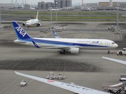 Blue779Aさんが、羽田空港で撮影した全日空 767-381/ERの航空フォト(飛行機 写真・画像)