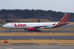 Tatsuya.Kさんが、成田国際空港で撮影したタイ・ライオン・エア A330-343の航空フォト(飛行機 写真・画像)