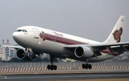 LEVEL789さんが、伊丹空港で撮影したタイ国際航空 A300B4-605Rの航空フォト(飛行機 写真・画像)