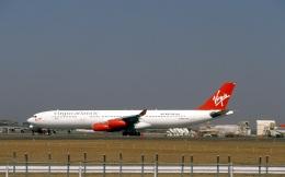 LEVEL789さんが、成田国際空港で撮影したヴァージン・アトランティック航空 A340-313の航空フォト(飛行機 写真・画像)