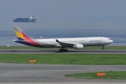kumagorouさんが、羽田空港で撮影したアシアナ航空 A330-323Xの航空フォト(飛行機 写真・画像)