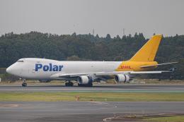 ゆーすきんさんが、成田国際空港で撮影したポーラーエアカーゴ 747-46NF/SCDの航空フォト(飛行機 写真・画像)