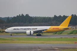 ゆーすきんさんが、成田国際空港で撮影したサザン・エア 777-FZBの航空フォト(飛行機 写真・画像)
