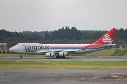 ゆーすきんさんが、成田国際空港で撮影したカーゴルクス・イタリア 747-4R7F/SCDの航空フォト(飛行機 写真・画像)
