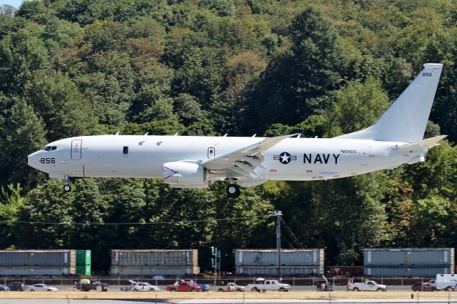 TA27さんが、ボーイングフィールドで撮影したアメリカ海軍 P-8A (737-8FV)の航空フォト(飛行機 写真・画像)
