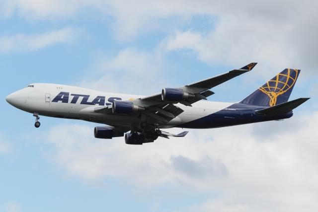 木人さんが、成田国際空港で撮影したアトラス航空 747-46NFの航空フォト(飛行機 写真・画像)