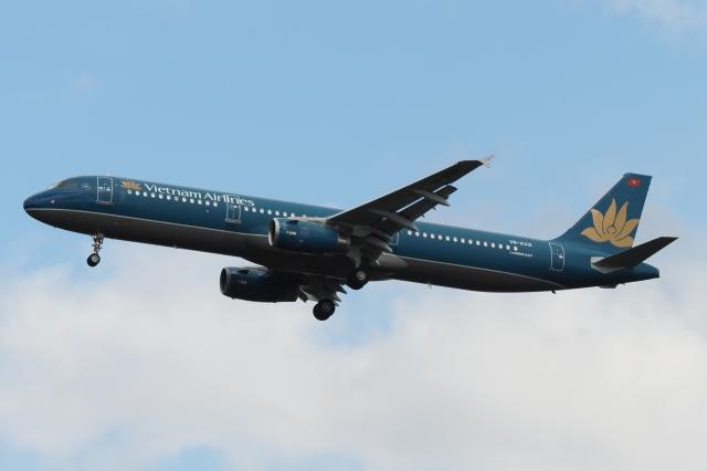 木人さんが、成田国際空港で撮影したベトナム航空 A321-231の航空フォト(飛行機 写真・画像)