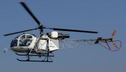 航空見聞録さんが、八尾空港で撮影した東邦航空 SA315B Lamaの航空フォト(飛行機 写真・画像)