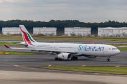 ゆーすきんさんが、成田国際空港で撮影したスリランカ航空 A330-343Eの航空フォト(飛行機 写真・画像)