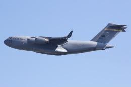 しゃこ隊さんが、横田基地で撮影したアメリカ空軍 C-17A Globemaster IIIの航空フォト(飛行機 写真・画像)