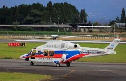 EosR2さんが、鹿児島空港で撮影した三井物産エアロスペース AW139の航空フォト(飛行機 写真・画像)