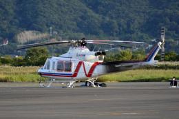 Gambardierさんが、岡南飛行場で撮影した西日本空輸 412EPの航空フォト(飛行機 写真・画像)