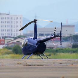 yabyanさんが、名古屋飛行場で撮影した日本法人所有 R44 Astroの航空フォト(飛行機 写真・画像)