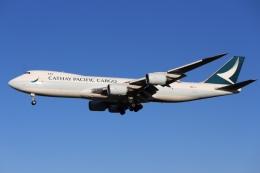 Love NRTさんが、成田国際空港で撮影したキャセイパシフィック航空 747-867F/SCDの航空フォト(飛行機 写真・画像)