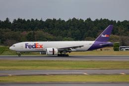 ゆーすきんさんが、成田国際空港で撮影したフェデックス・エクスプレス 777-FS2の航空フォト(飛行機 写真・画像)