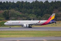 ゆーすきんさんが、成田国際空港で撮影したアシアナ航空 A321-251NXの航空フォト(飛行機 写真・画像)