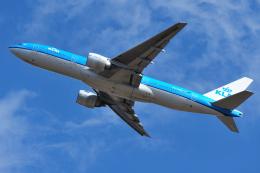 saoya_saodakeさんが、成田国際空港で撮影したKLMオランダ航空 777-206/ERの航空フォト(飛行機 写真・画像)