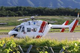 TAK_HND_NRTさんが、高松空港で撮影した四国航空 BK117C-1の航空フォト(飛行機 写真・画像)