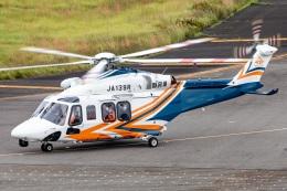 T spotterさんが、名古屋飛行場で撮影した静岡県消防防災航空隊 AW139の航空フォト(飛行機 写真・画像)