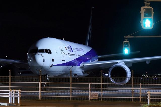 kan787allさんが、羽田空港で撮影した全日空 777-281の航空フォト(飛行機 写真・画像)