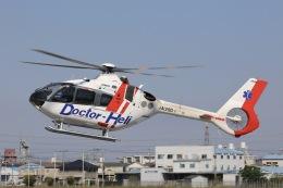 Hii82さんが、八尾空港で撮影した中日本航空 EC135P3の航空フォト(飛行機 写真・画像)