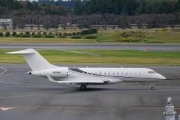 ゆーすきんさんが、成田国際空港で撮影したウィルミントン・トラスト・カンパニー BD-700 Global Express/5000/6000の航空フォト(飛行機 写真・画像)