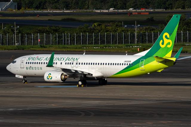 Tatsuya.Kさんが、成田国際空港で撮影した春秋航空日本 737-86Nの航空フォト(飛行機 写真・画像)