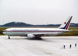 Bokuranさんが、岡山空港で撮影したチャイナエアライン 767-209(ER)の航空フォト(飛行機 写真・画像)