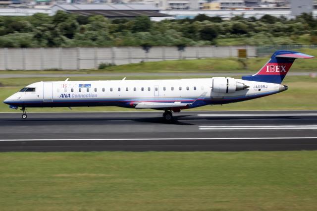 ▲®さんが、伊丹空港で撮影したアイベックスエアラインズ CL-600-2C10(CRJ-702)の航空フォト(飛行機 写真・画像)