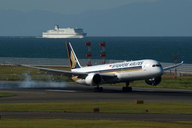 採れたてほしいもさんが、中部国際空港で撮影したシンガポール航空 787-10の航空フォト(飛行機 写真・画像)