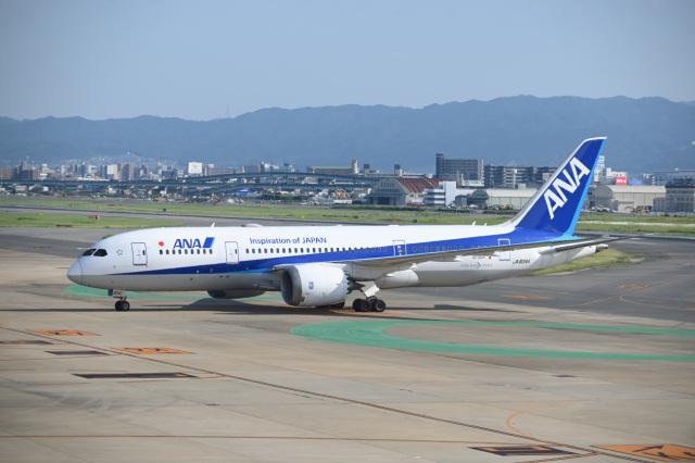 どんちんさんが、福岡空港で撮影した全日空 787-8 Dreamlinerの航空フォト(飛行機 写真・画像)