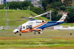 yabyanさんが、名古屋飛行場で撮影した静岡県消防防災航空隊 AW139の航空フォト(飛行機 写真・画像)