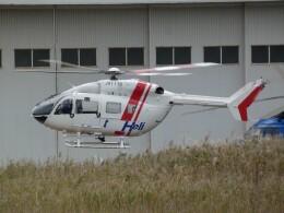 宮城の航空ファンさんが、仙台空港で撮影した東北エアサービス BK117C-2の航空フォト(飛行機 写真・画像)